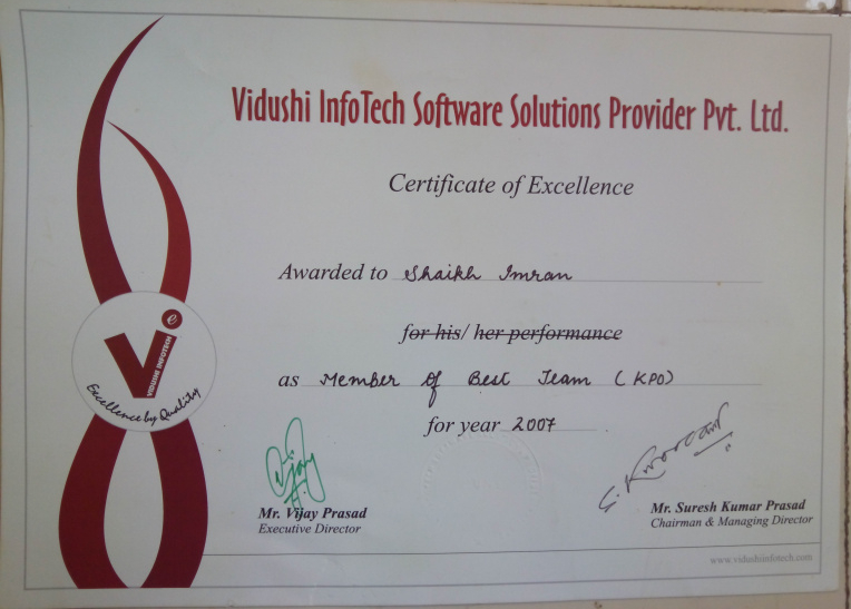 vidushiinfotech_award